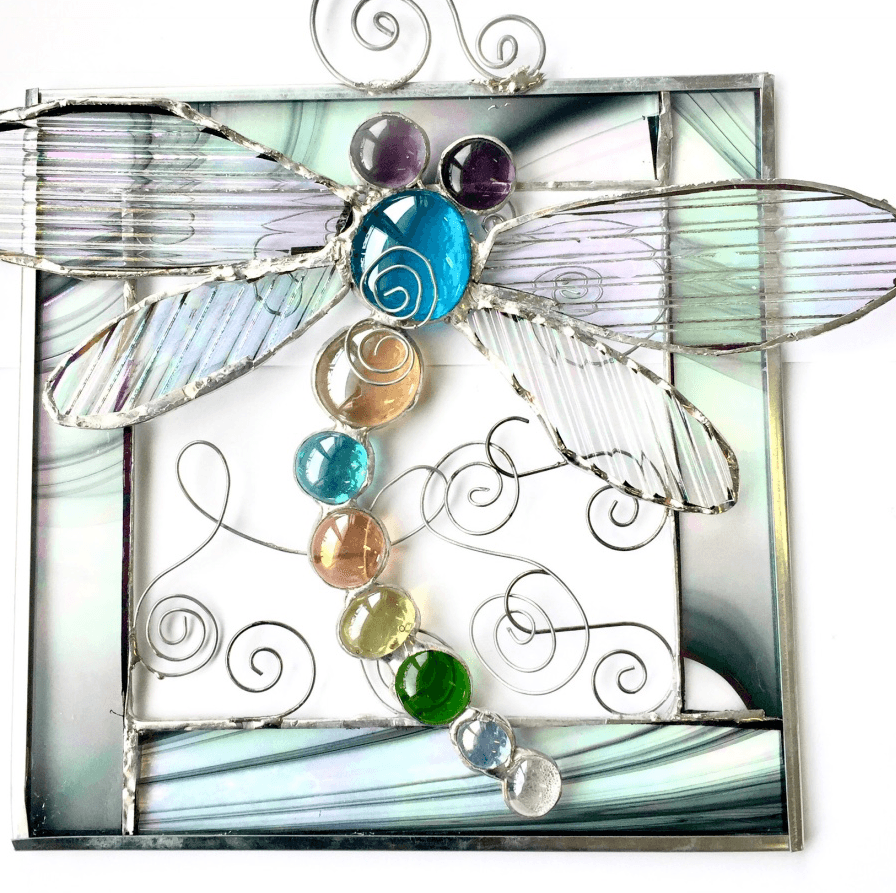 Dragonfly & Butterfly Panel Samples (Student Gallery)